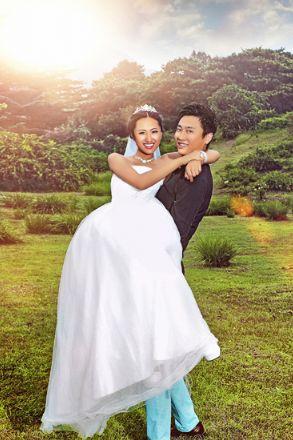 北京婚纱摄影店图片