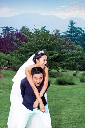 北京影楼婚纱照图片